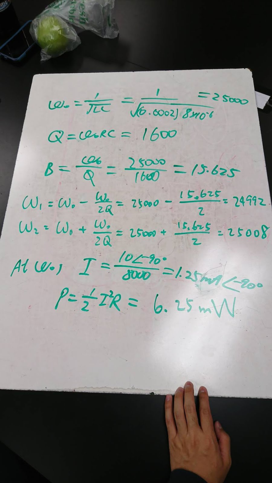 Engineering 44 Iwu Create Bandpass And Bandreject Filters With Rlc Series Circuits Band Pass Filter Will Middle Frequency R In Stop Other Than The Lc