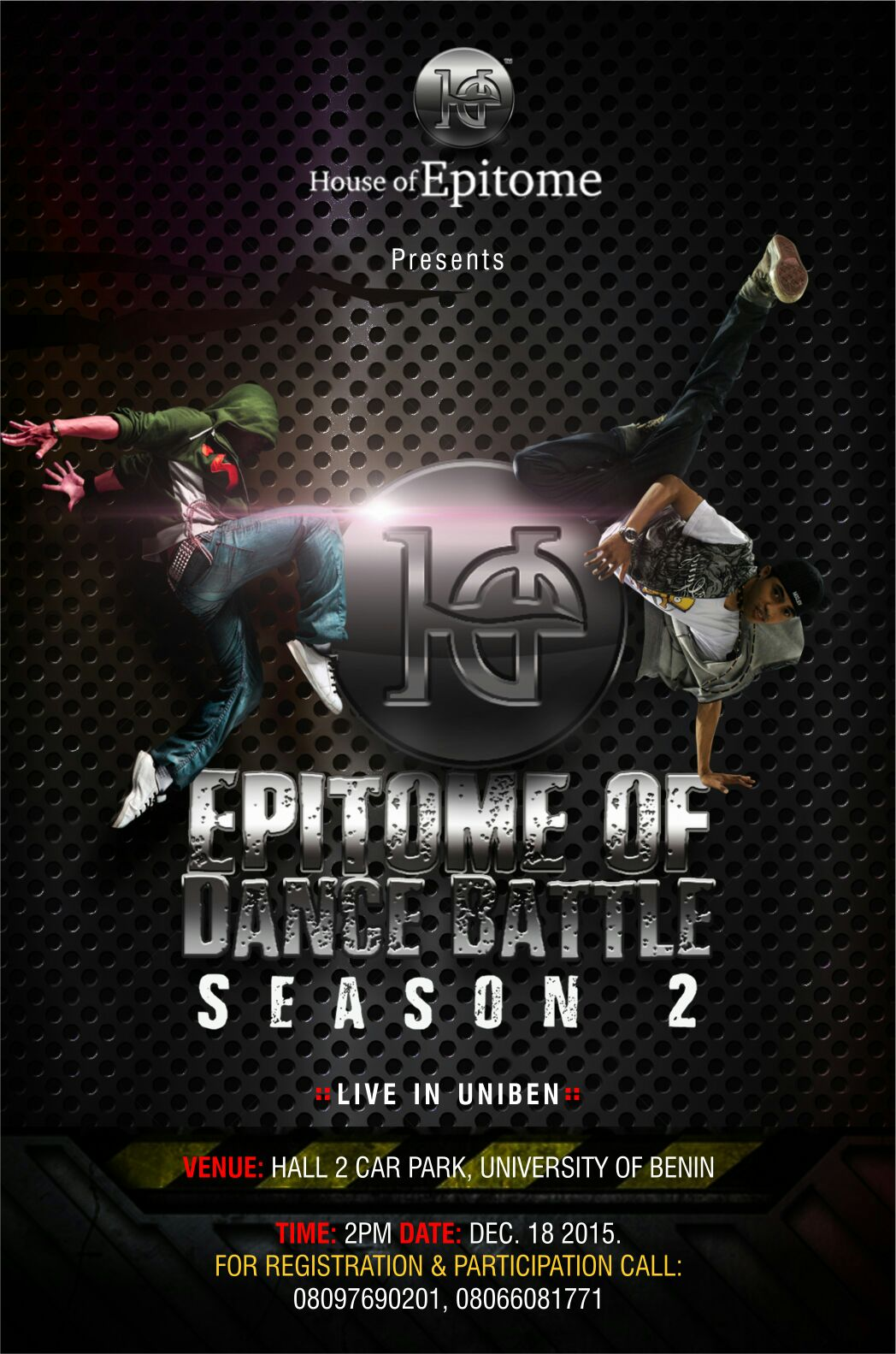 EPITOME OF DANCE BATTLE SEASON 2