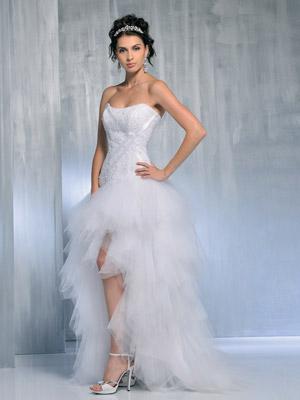 de mariage,robes de soirée et décoration: Robe de mariée courte ...