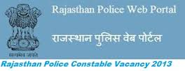 Rajasthan Police Constable Syllabus 2013 PDF Solved Paper, Sample Paper, Pattern