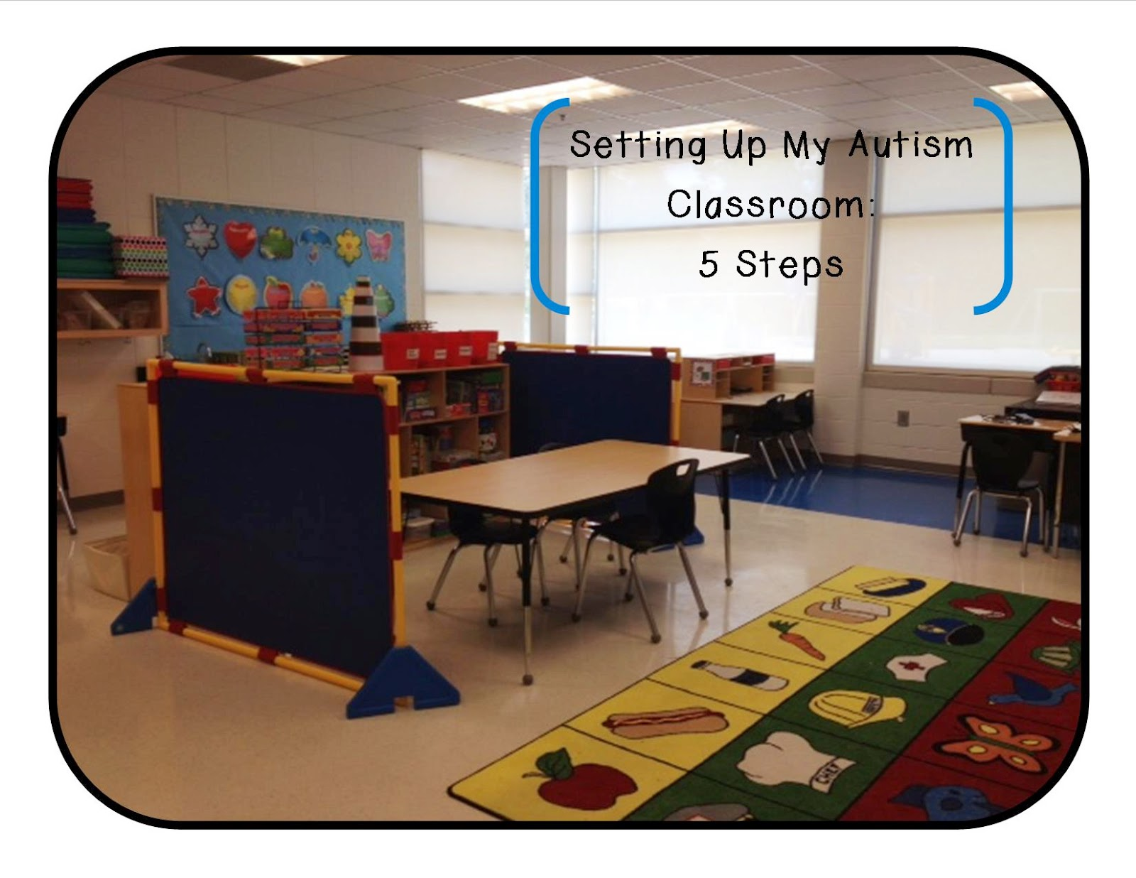 Classroom Design For Blind Students ~ It s always sunny in sped setting up my autism class