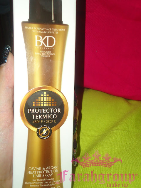 protectores termicos para pelo, bkd, cabellos secos