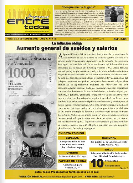 AUMENTO GENERAL DE SUELDOS Y SALARIOS