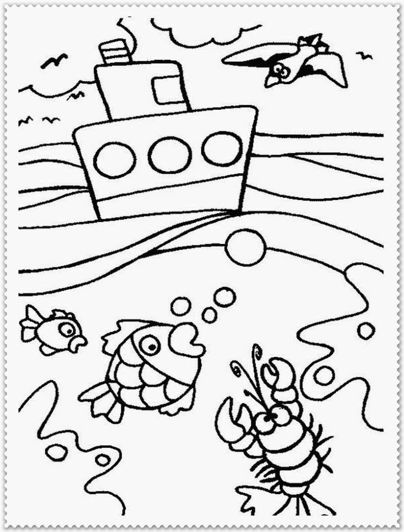 Summer coloring pages realistic coloring pages for Coloring pages for summer