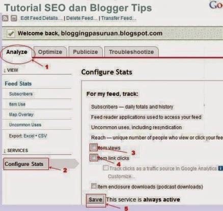Cara Mengganti 'feedproxy.google.com' dengan URL Feedburner Anda