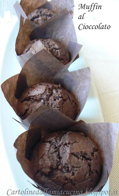muffins (arancia e) cioccolato.....di montersino