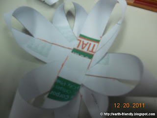 Paper ribbon base