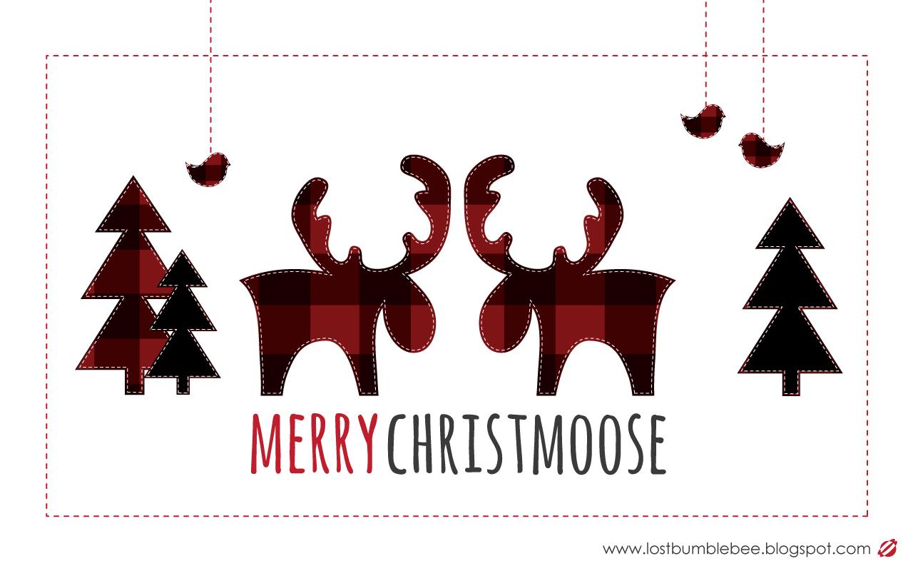 LostBumblebee 2013 Christmas Desktop  Free