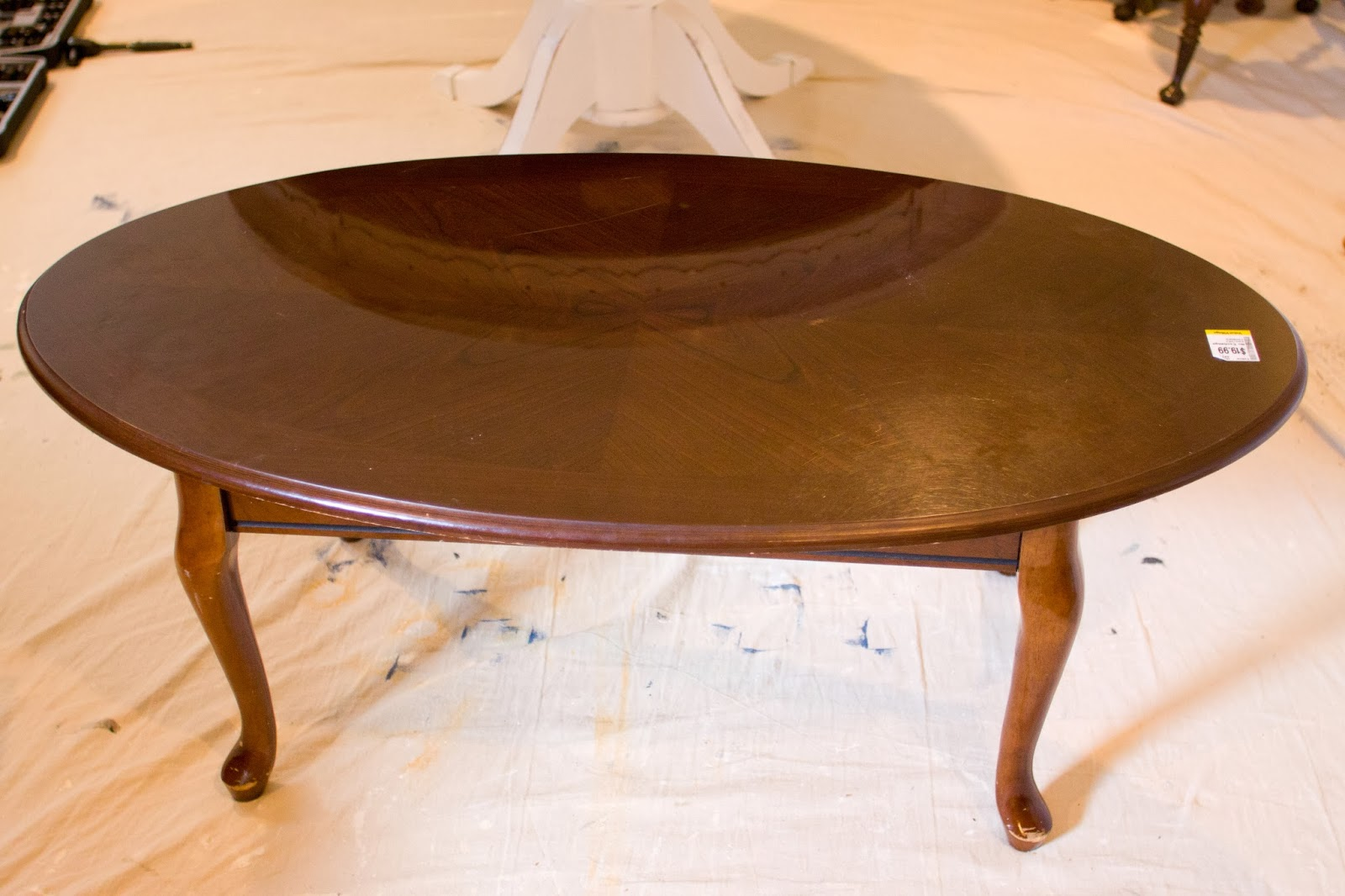Sweet Tree Furniture Oval Coffee Table
