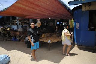 Market in Camotes, Cebu