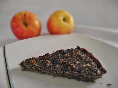 mákos mandulás almás paleo