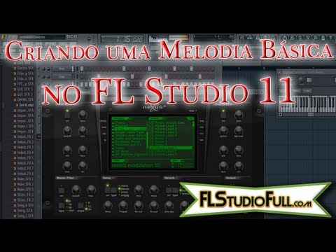 Criando Melodia Básica no FL Studio 11 [Tutorial-Pt-Br] Pt2