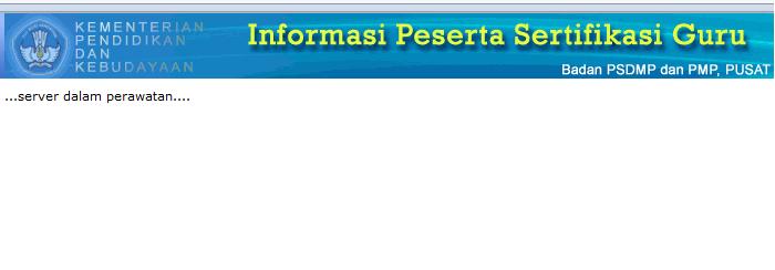 Pengumuman Hasil Uji Kompetensi di http://sergur.kemdiknas.go.id
