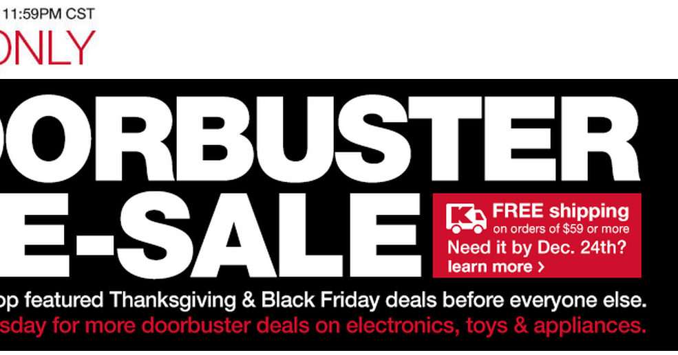 Extreme Couponing Mommy KMart Black Friday Doorbuster PRE-Sale 11/22 - 11/23/14  sc 1 st  Extreme Couponing Mommy & Extreme Couponing Mommy: KMart Black Friday Doorbuster PRE-Sale 11 ...