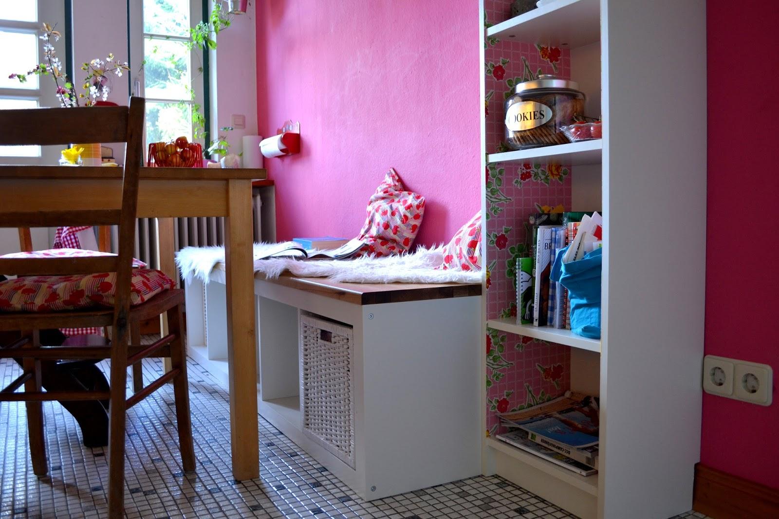 gemachtes und gedachtes diy zwischenr ume 9 auf der tollen ruck zuck selbstgebauten k chenbank. Black Bedroom Furniture Sets. Home Design Ideas