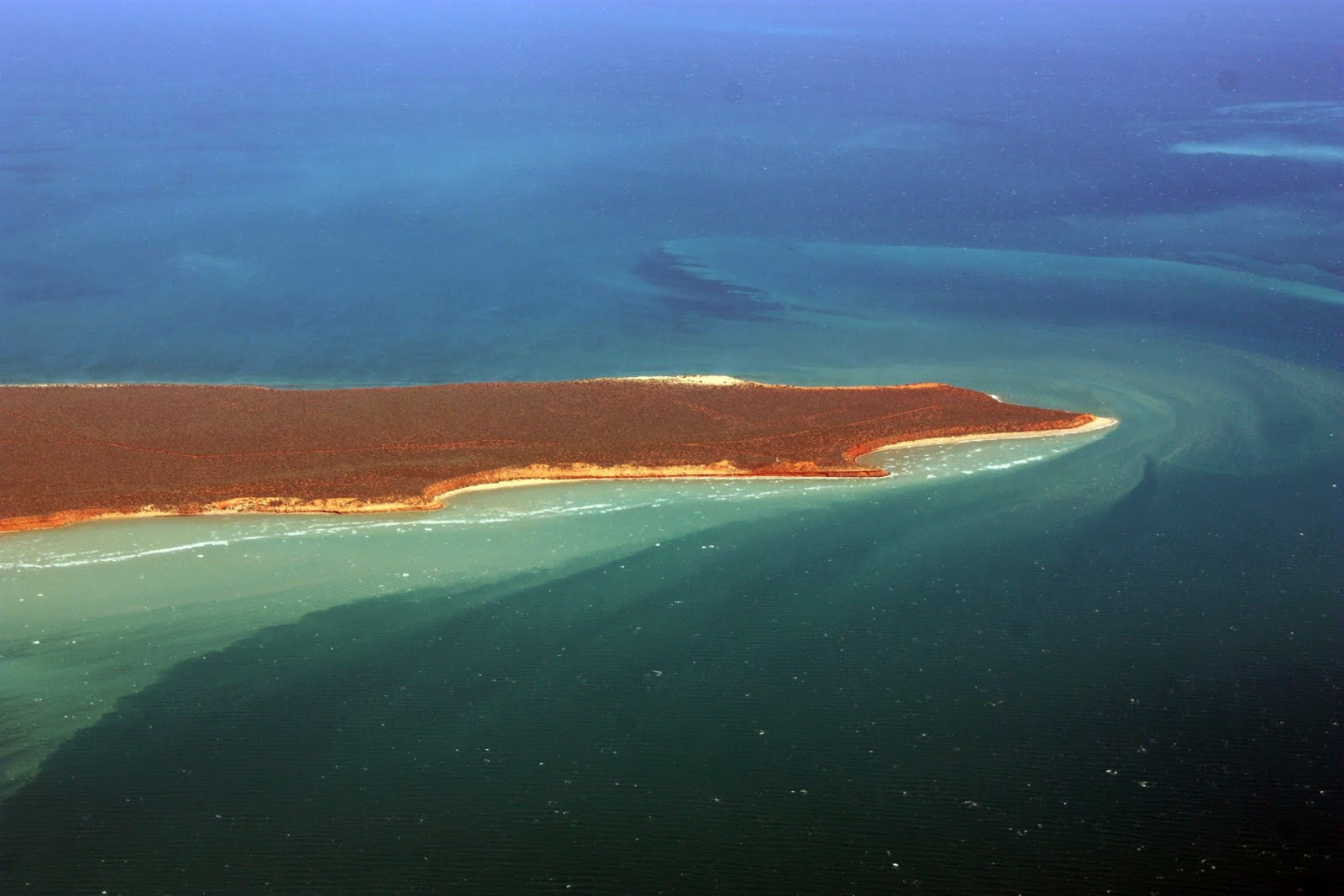 aerial view of point peron