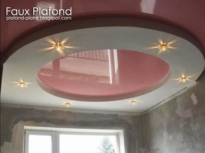 Plafond d coration maison 2014 - Decoration des plafonds en platre ...