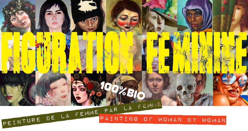 figuration feminine / peinture de la femme par la femme / painting of woman by woman