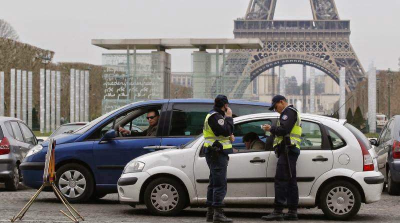 Polusi Meningkat Kendaraan di Paris Dilarang