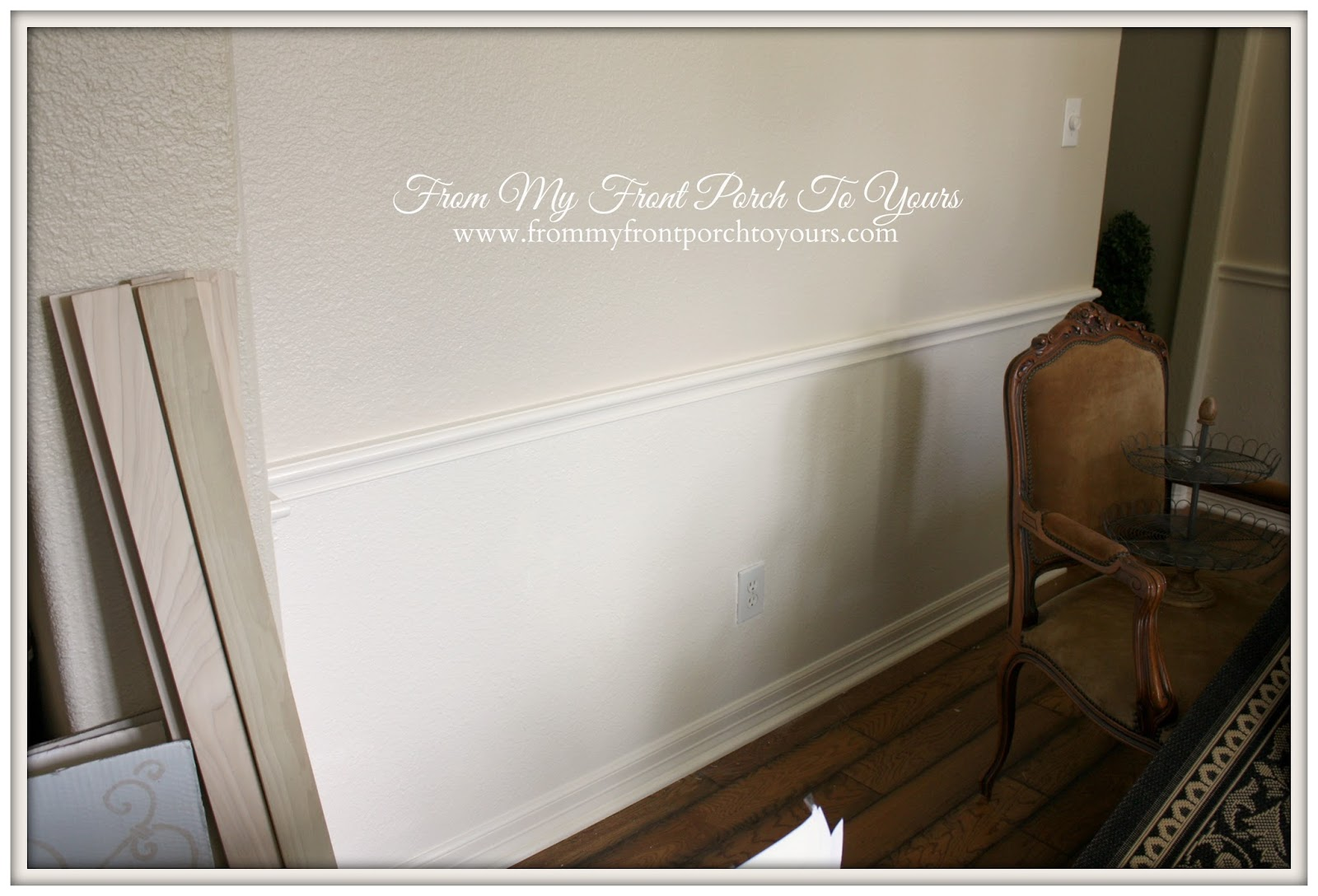 From My Front Porch To Yours DIY CrossbuckBarn Door Dining Room