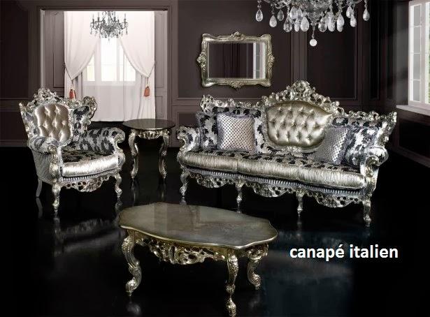 canapé italien