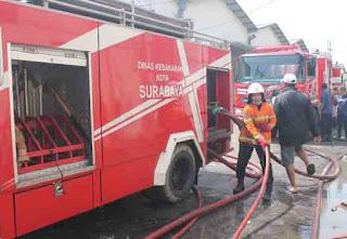 Informasi Teraktual Terjadinya Kebakaran di Surabaya