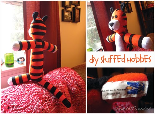 DIY Stuffed Hobbes