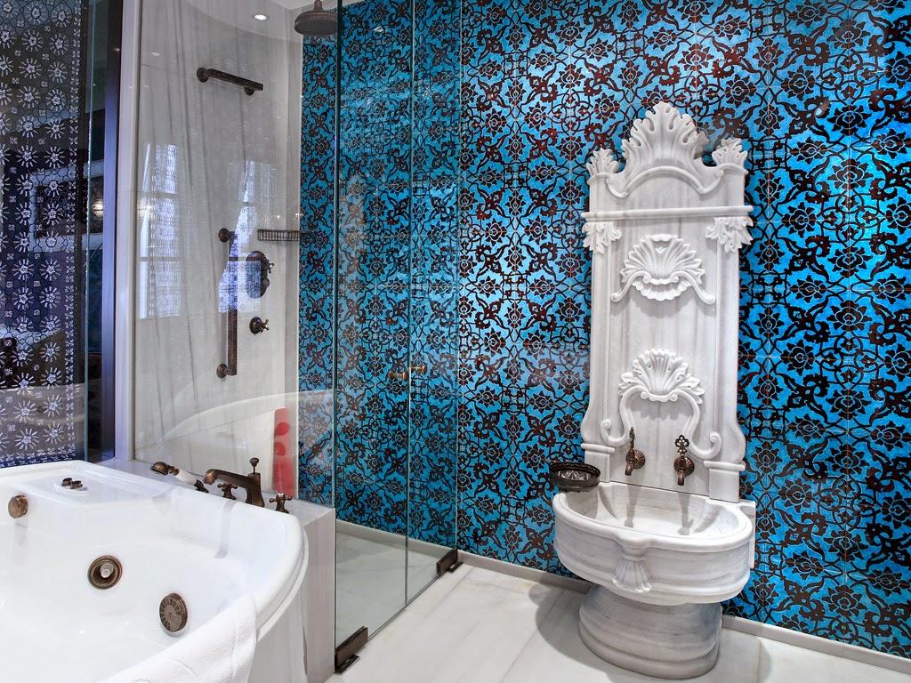 ديكورات الحمامات التركية