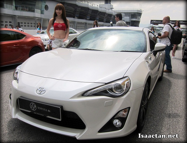 The All-New Toyota 86 unveiled on the tracks of Sepang International Circuit