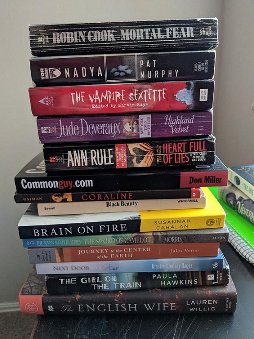 My May 2018 TBR Stack
