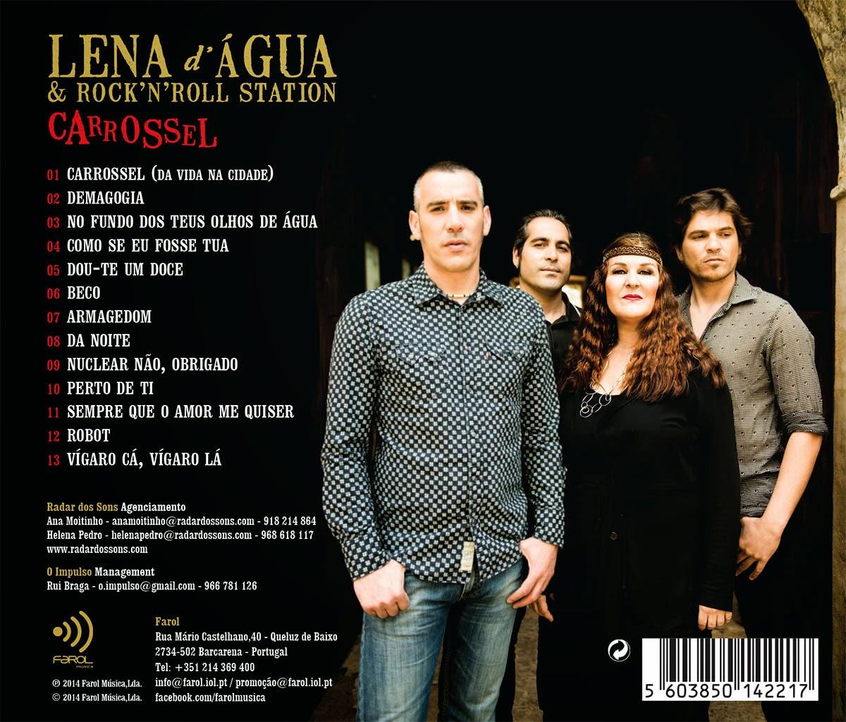 Lena d´Água & Rock 'n' Roll Station - Carrossel (2014)  INLAY+LENA+AGUA1200+(1)