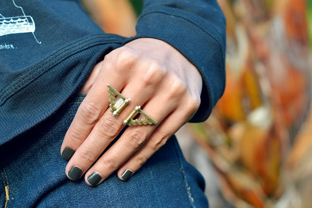 Mommy Testers, Aztec inspired ring, get the look, look for less, 2103 fashion trends, searsStyle #ThisisStyle #shop #cbias