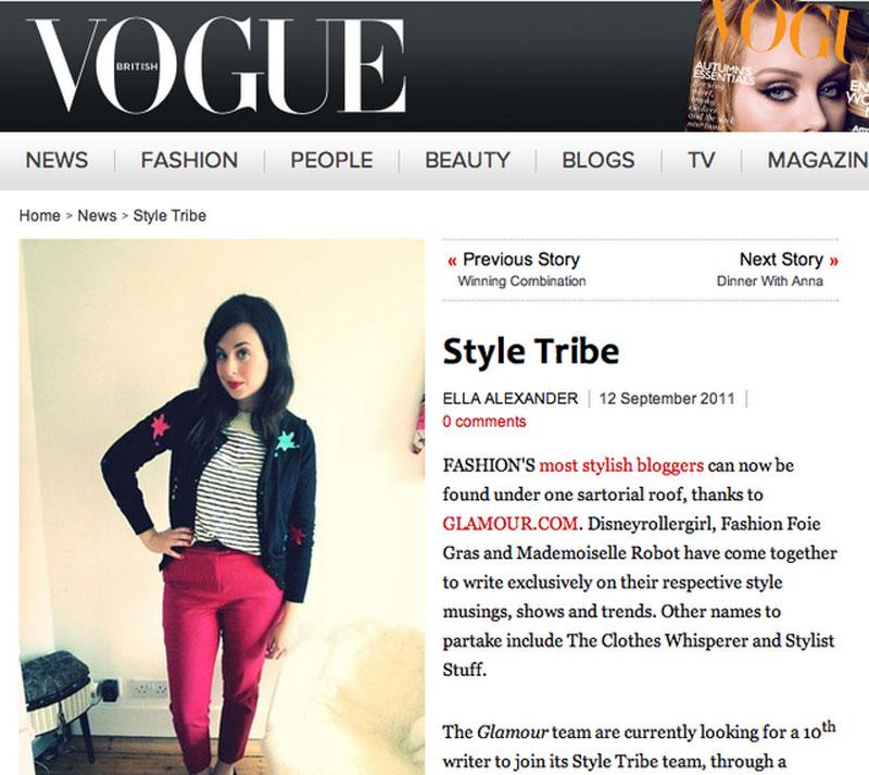 VOGUE.com - Style Tribe