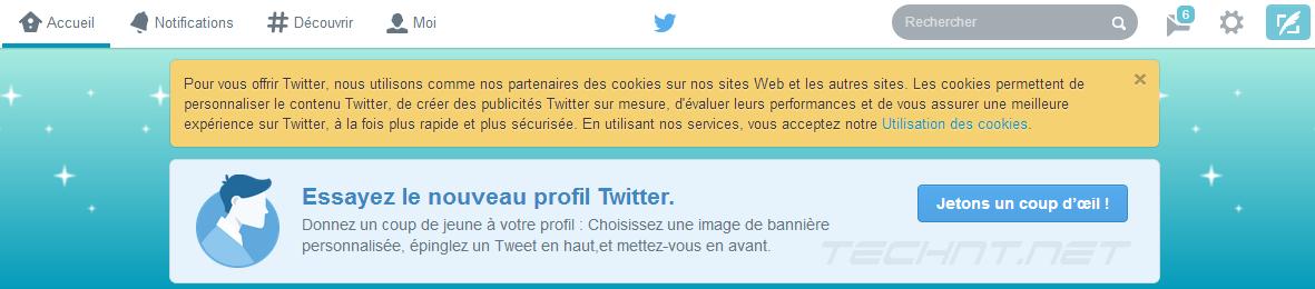 البروفايل الجديد أصبح متاح للجميع على Twitter التقنية نت technt.net