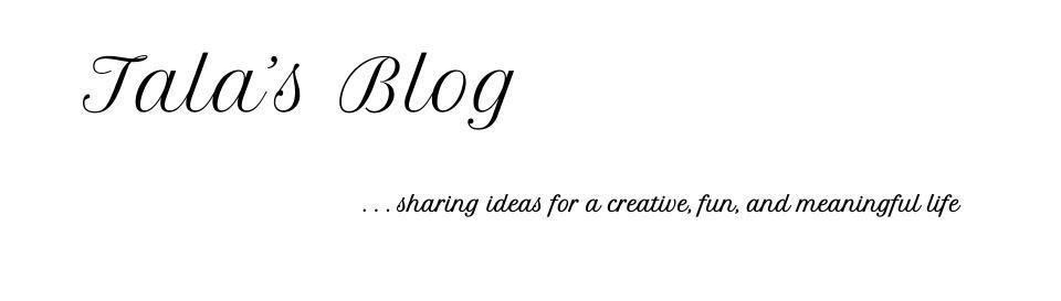 Tala's Blog
