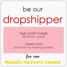 Medela Harmony, Medela Harmony Sealed, Medela Harmony Murah, Ejen Medela Harmony, Dropshipper Pam susu
