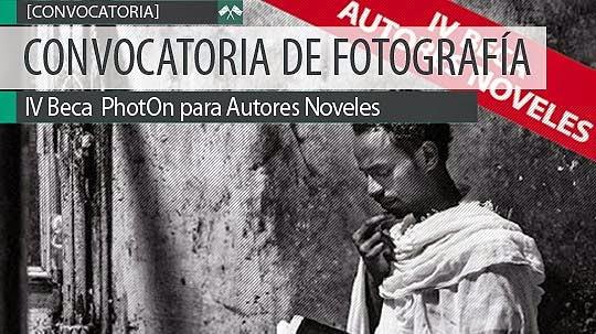 Convocatoria de fotografía. Beca PhotOn para autores noveles