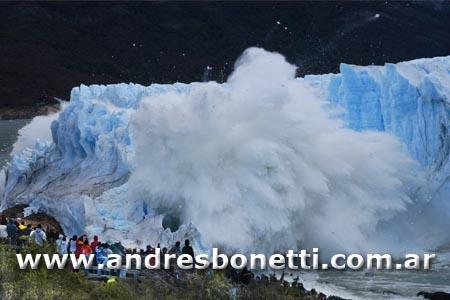 Glaciar Perito Moreno - Ruptura - Perito Moreno Glacier Collapsing Rupture - Patagonia - Andrés Bonetti