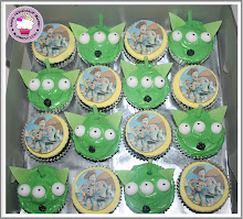 Toys stories cupcakes