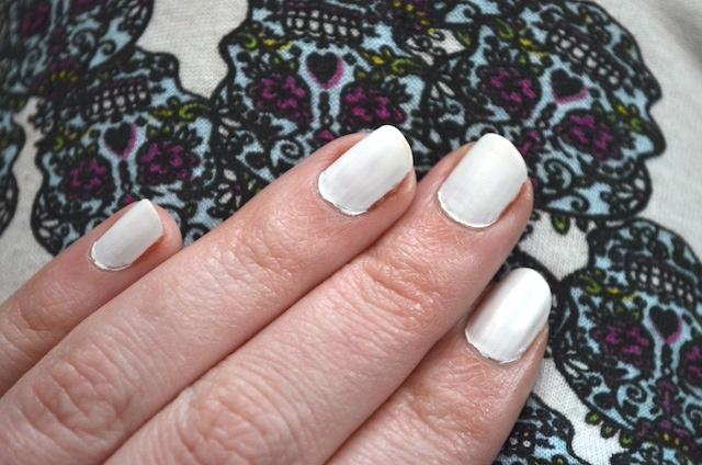 marble nails plastic bag