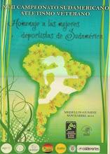 CAMPEONATO SUDAMERICANO MASTER 2014