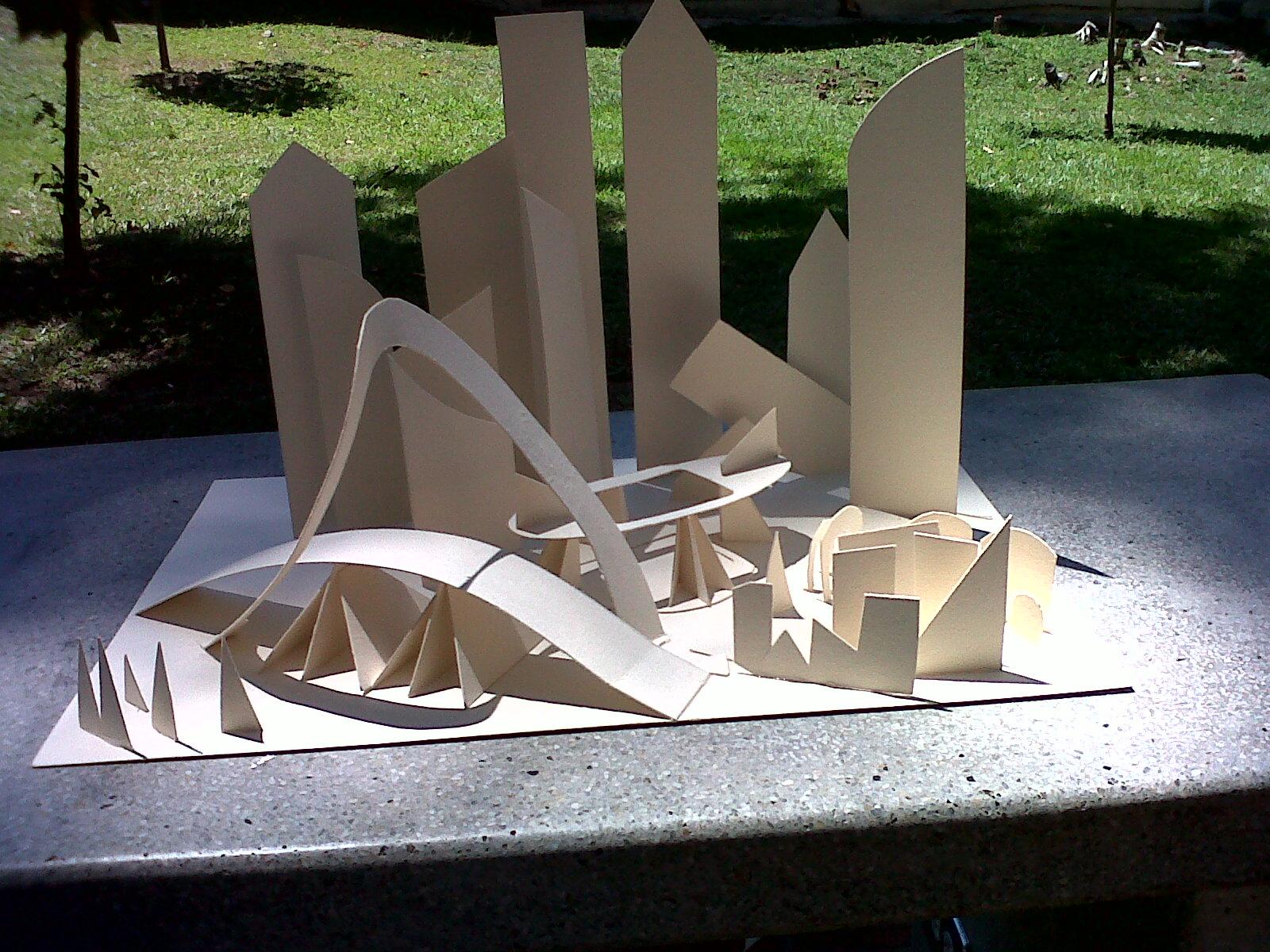 Urbanismo 1 formas y patrones urbanos maquetas for Programa para hacer edificios en 3d