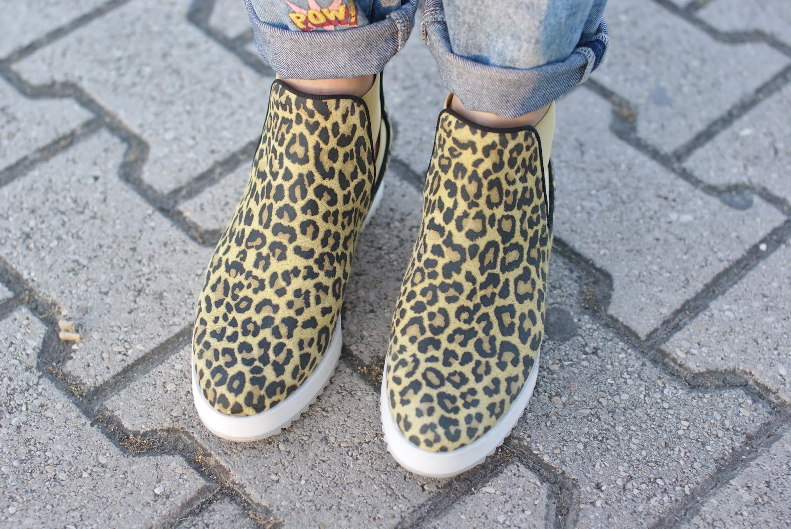 uno8uno tronchetti leopard lime, uno8uno shoes, Fashion and Cookies fashion blog