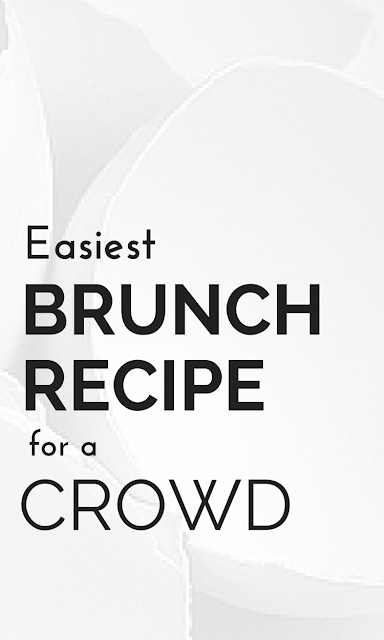 Look here for the easiest and most delicious brunch recipe you can make for yourself or a big crowd that will sure to please! And, learn a fun egg cooking trick, too! The Health-Minded.com