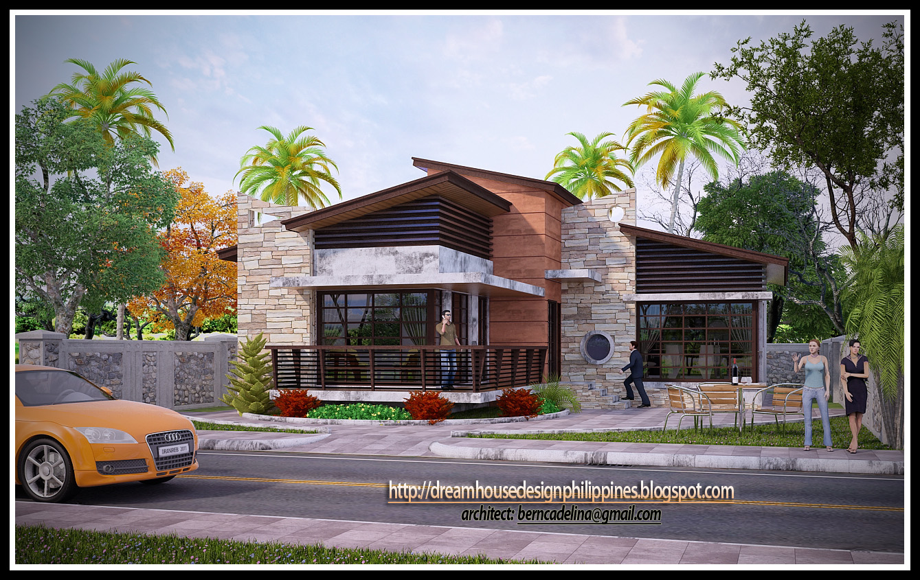 Philippine dream house design post modern house 2 for Post modern home design