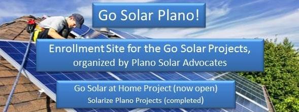 Go Solar Plano!