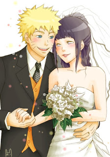 Foto naruto dan hinata menikah lalu punya anak