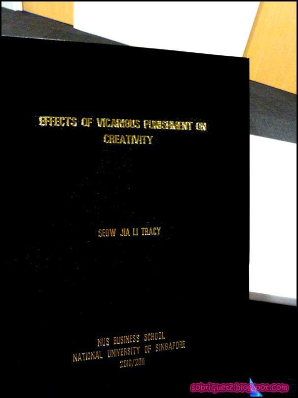 Nus thesis
