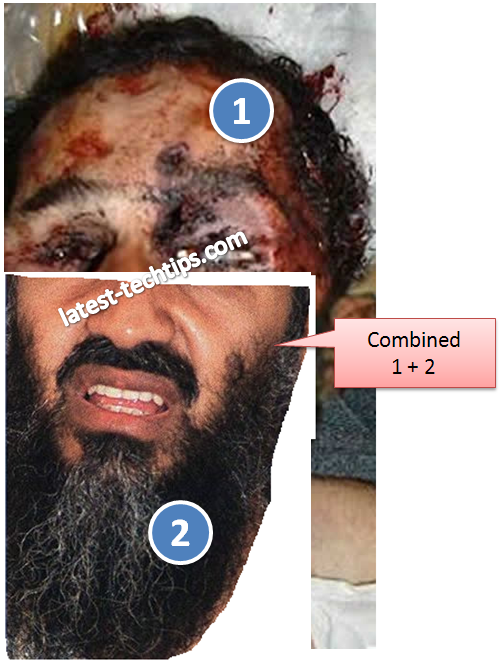 Osama bin laden dead body fake