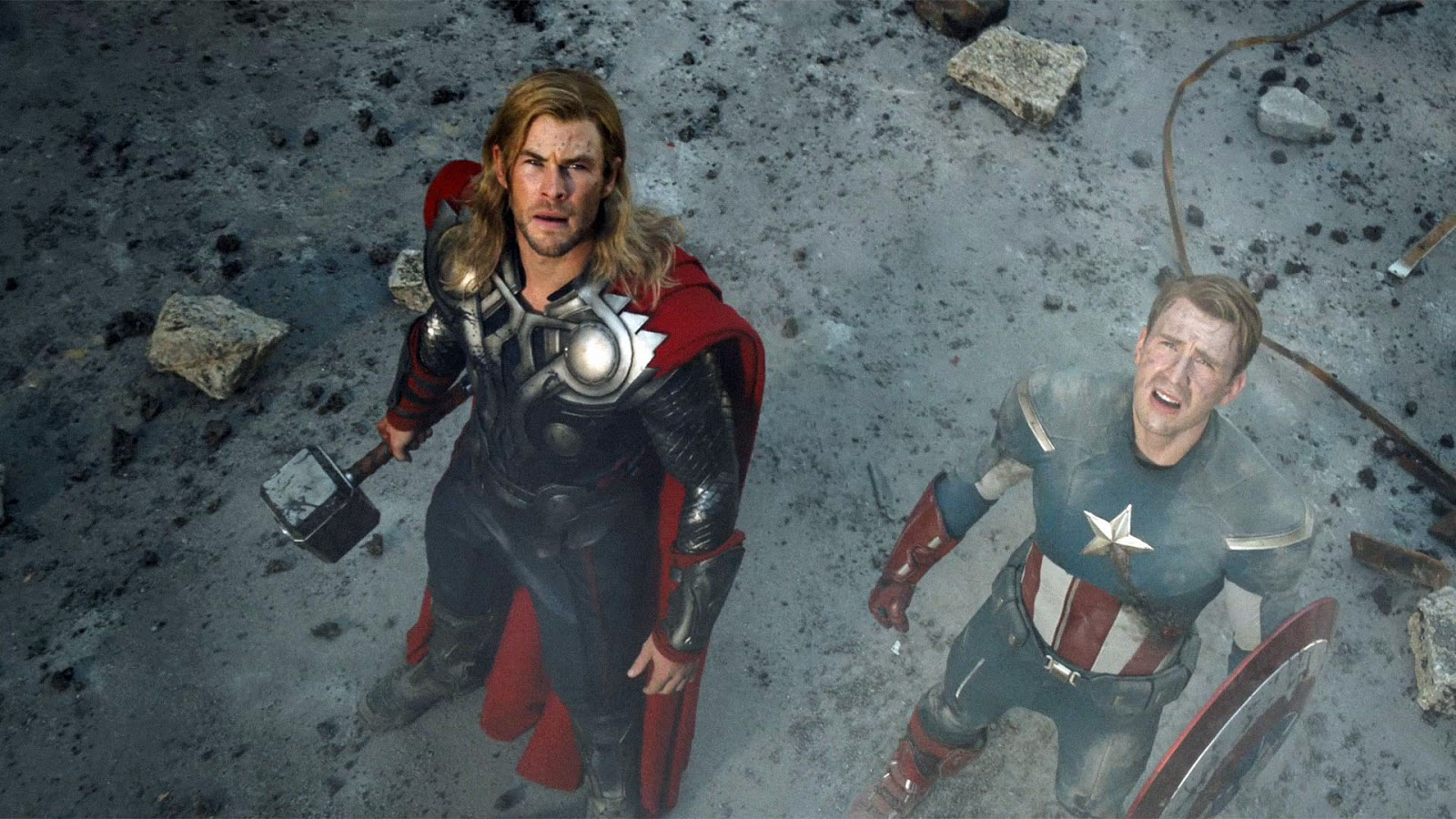 Thor And Captain America Wallpaper